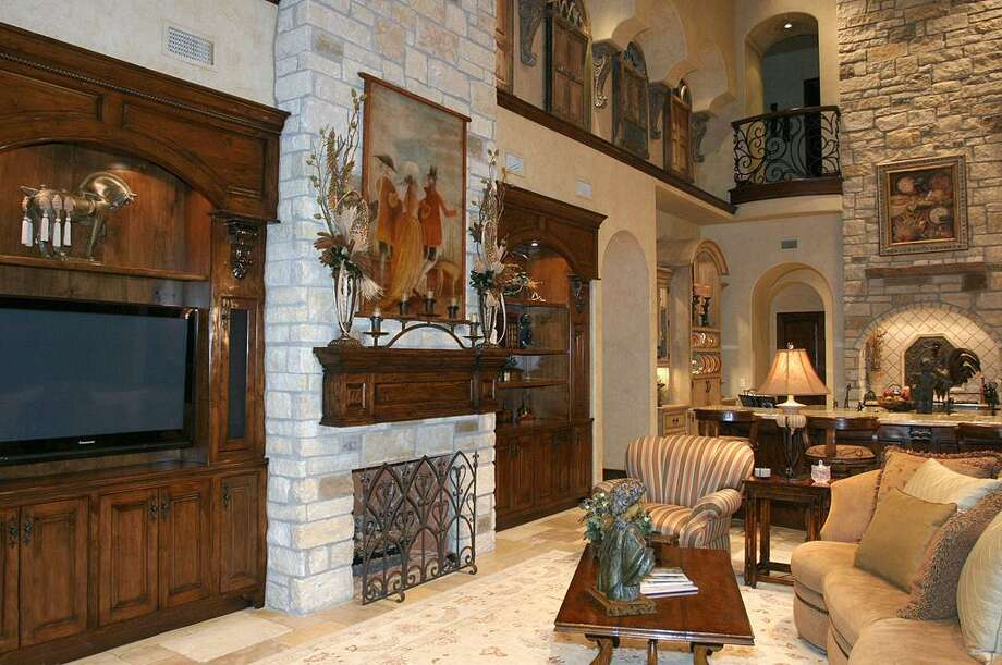 Another view of the home's family room.  Photo: HAR