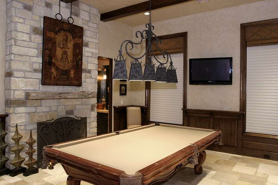 Another view of the home's game room.  Photo: HAR