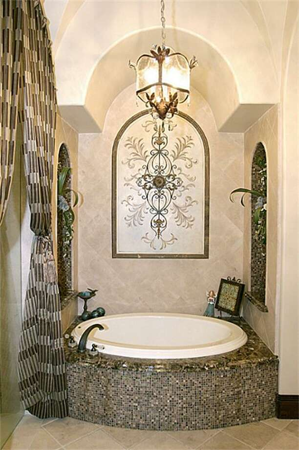The home's master bathroom.  Photo: HAR