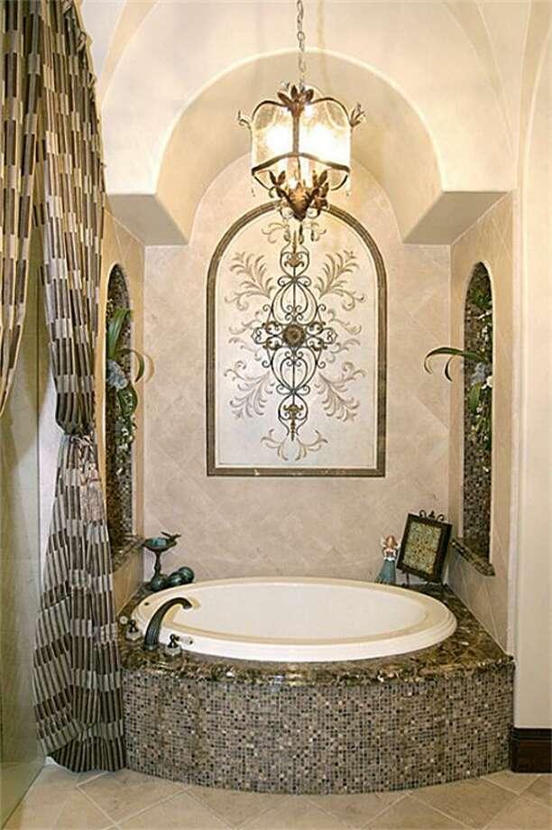The home's master bathroom. Photo: HAR