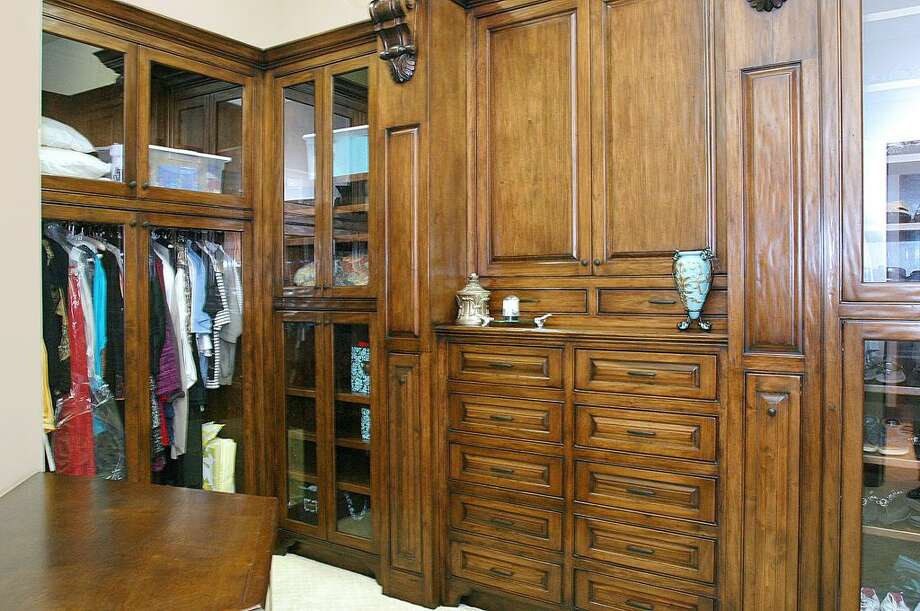 The master bedroom's closet.  Photo: HAR