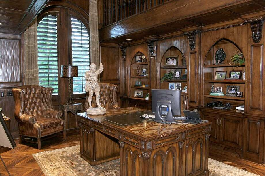 The home also comes with an executive study. Photo: HAR