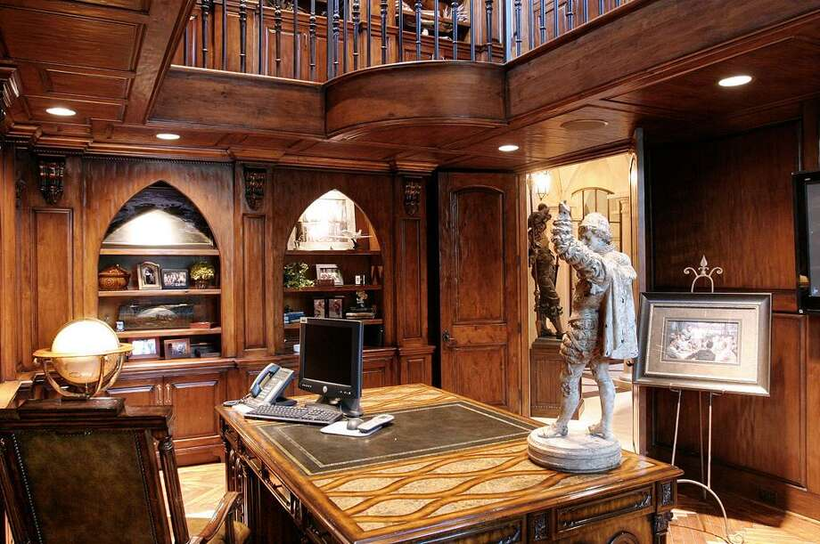 This is another view of the executive study. Photo: HAR