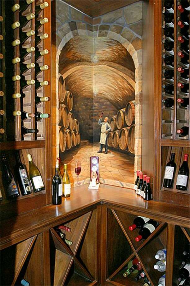 The home also has a wine grotto.  Photo: HAR