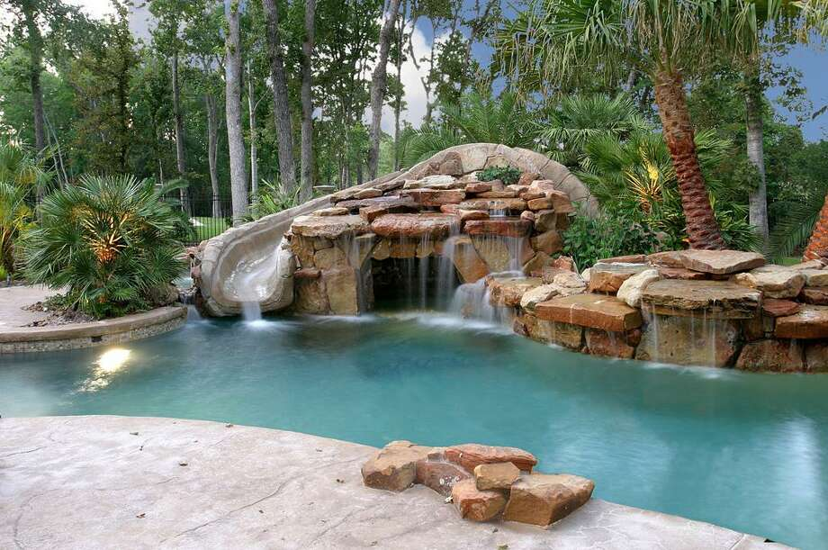 The home has a gorgeous pool too. Photo: HAR