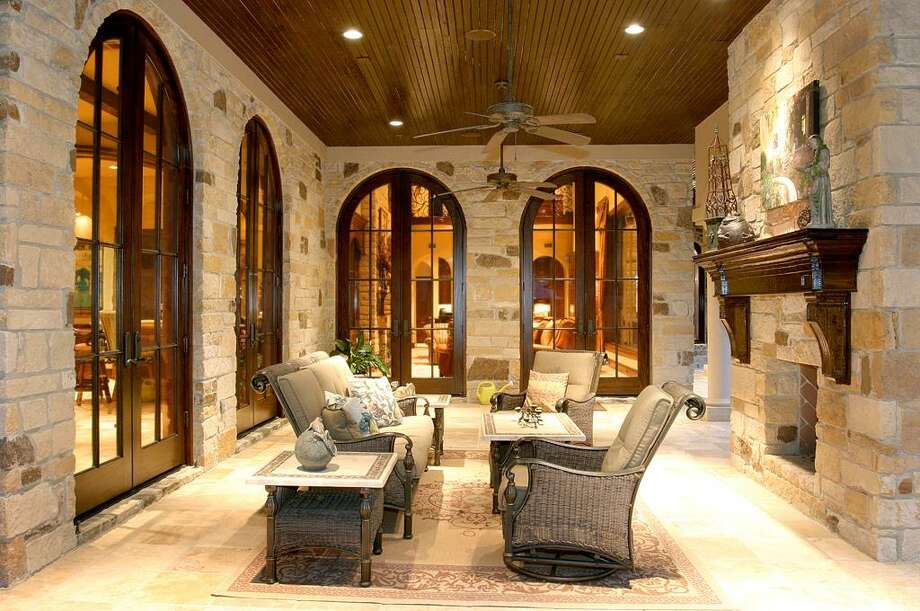 A view of the rear porch. Photo: HAR