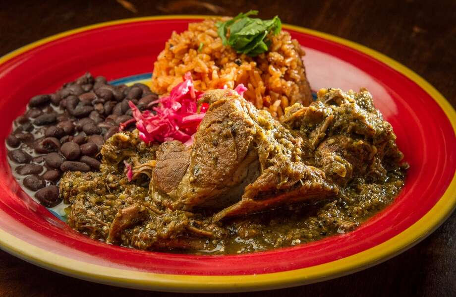 The Chile Verde at El Gusano in Oakland, Calif., is seen on Thursday,  June 13th, 2013.