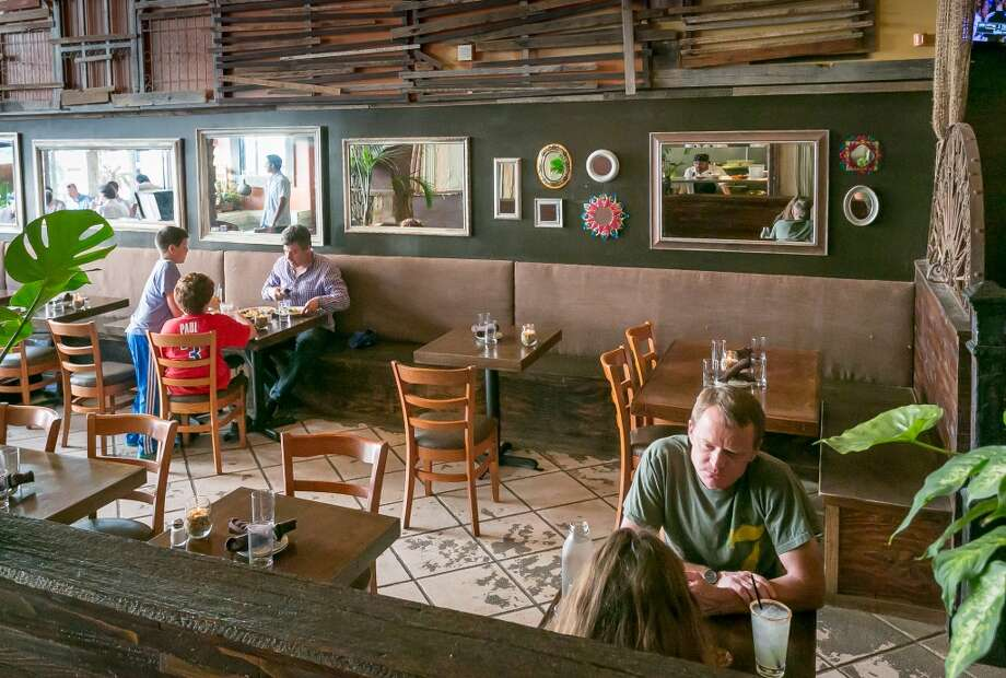 Diners enjoy dinner at El Gusano in Oakland, Calif., on Thursday,  June 13th, 2013.