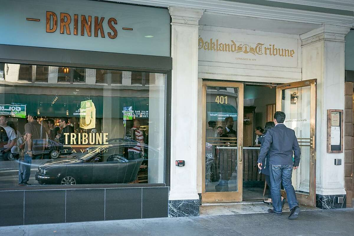 The exterior of Tribune Tavern in Oakland, Calif., is seen on Thursday, June 13th, 2013.