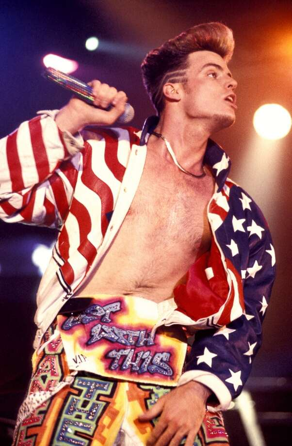 Vanilla Ice is patriotic.  Photo: Mick Hutson, Redferns