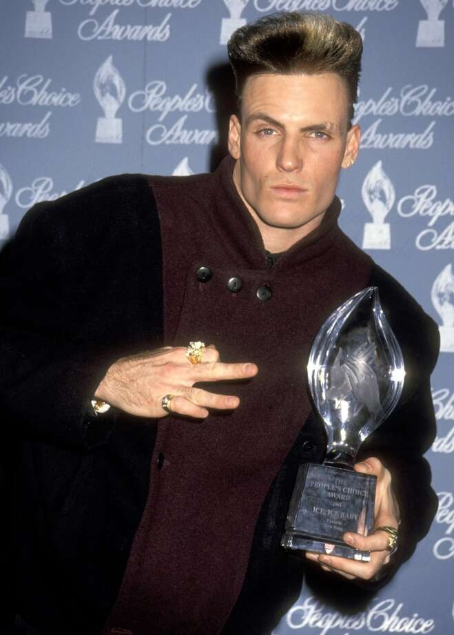 Vanilla Ice knows sign language. Photo: Ron Galella, WireImage