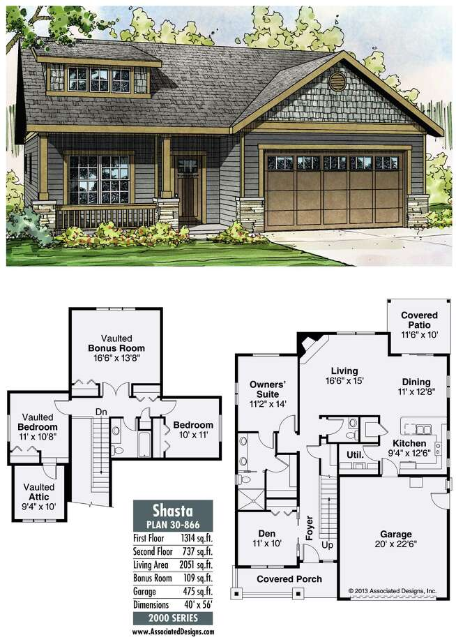 Shasta Plan 30-866