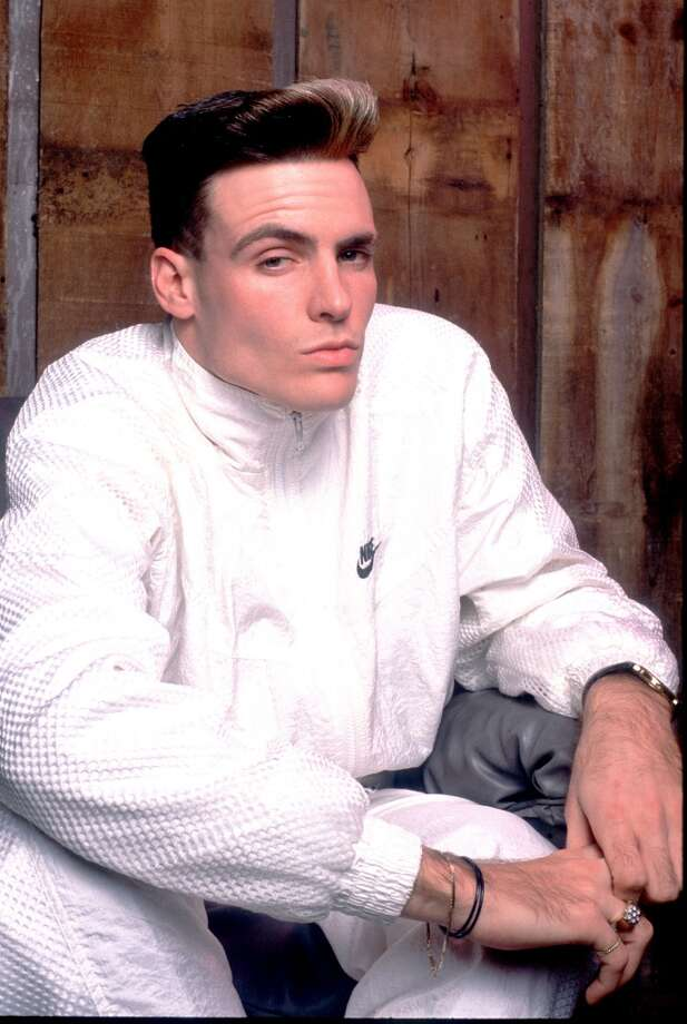 Vanilla Ice wears all white.