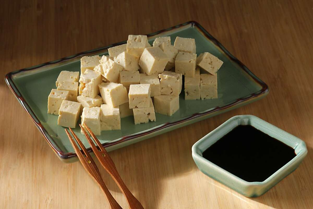 Tofu dipping sauce as seen in San Francisco, California, on Wednesday, June 19, 2013. Food styled by Janny Hu.