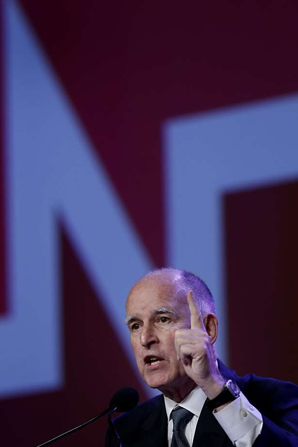 Gov. Jerry Brown has not said whether he will run again. Photo: Brant Ward, The Chronicle