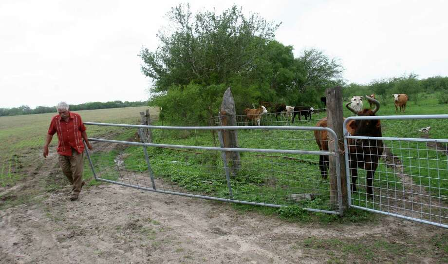 Ben Bolt - Tony Garcia was among a half dozen landowners who sued the King Ranch over an attempt to move a century-old fence line. The King Ranch claimed the original survey was incorrect but a state district judge in Jim Wells County ruled in favor of Garcia and the other landowners. May 15, 2013 Photo: John MacCormack, San Antonio Express-News / San Antonio Express-News