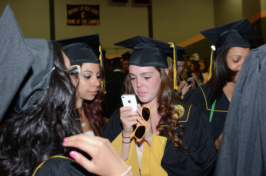 The 2013 commencement excercises at Jonathan Law High School in Milford on Thursday, June 20, 2013. Photo: Amy Mortensen / Connecticut Post Freelance