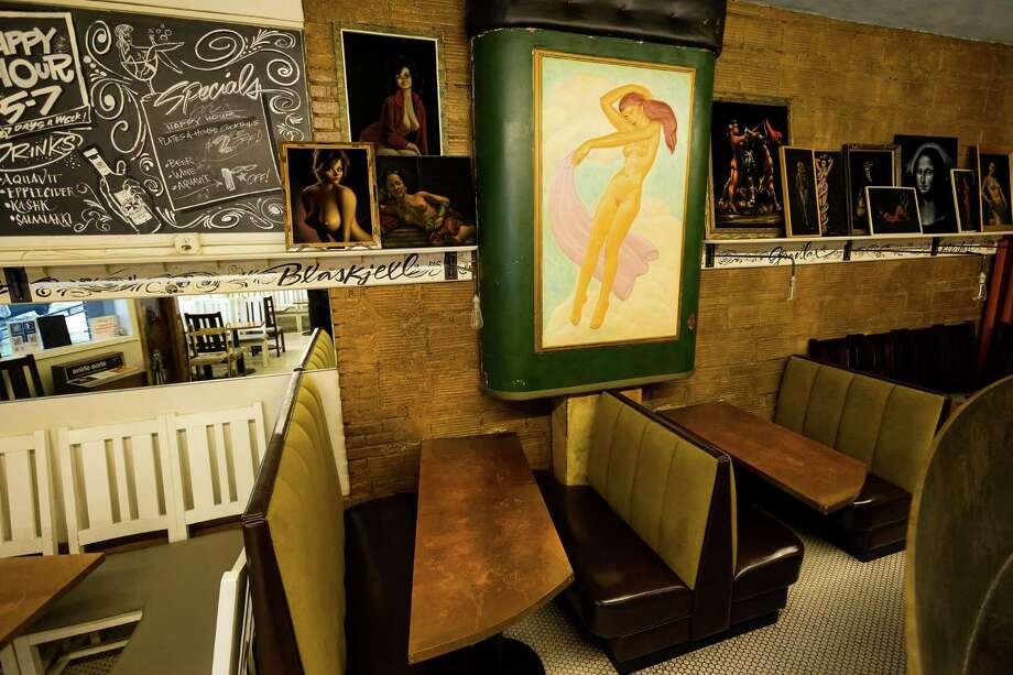 "Inside the Copper Gate, a ""Scandal-navian""-style restaurant and lounge, on Thursday, June 20, 2013, in the Ballard neighborhood of Seattle. The bar is set to close June 30. Photo: JORDAN STEAD, SEATTLEPI.COM / SEATTLEPI.COM"