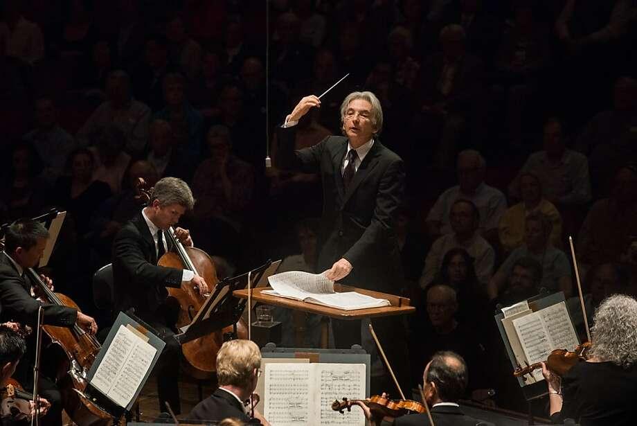 Michael Tilson Thomas and the S.F. Symphony dazzled. Photo: Kristen Loken