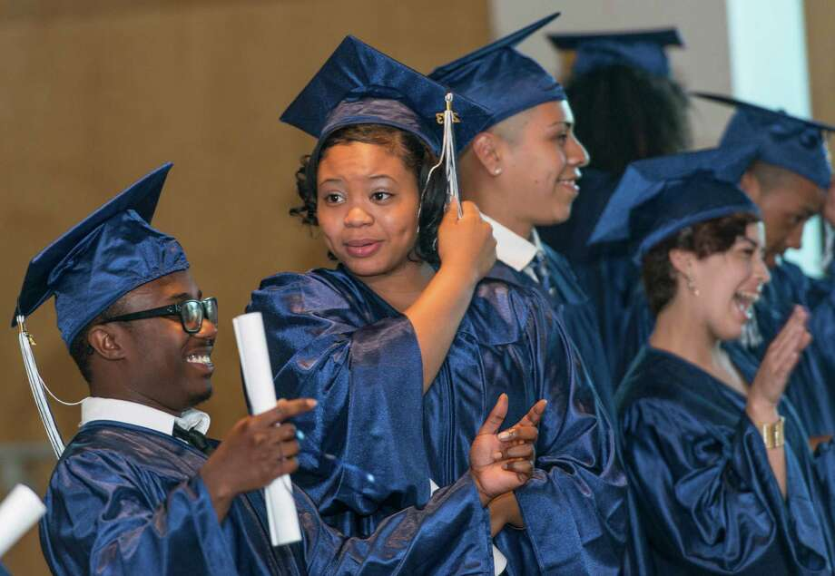 Briggs high school graduation held at Brien McMahon high school, Norwalk, CT on Thursday June 20th, 2013. Photo: Mark Conrad / Stamford Advocate Freelance