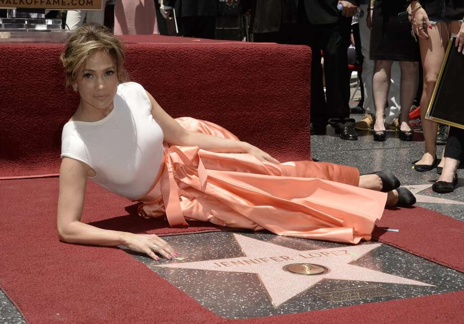 HOLLYWOOD, CA - Jennifer Lopez is honored with a star on the Hollywood Walk Of Fame June 20, 2013 in Hollywood, California.  (Photo by Kevin Winter/Getty Images)