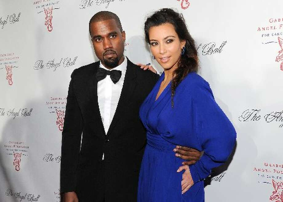 Kim Kardashian and Kanye West have reportedly named their daughter North. Photo: Associated Press