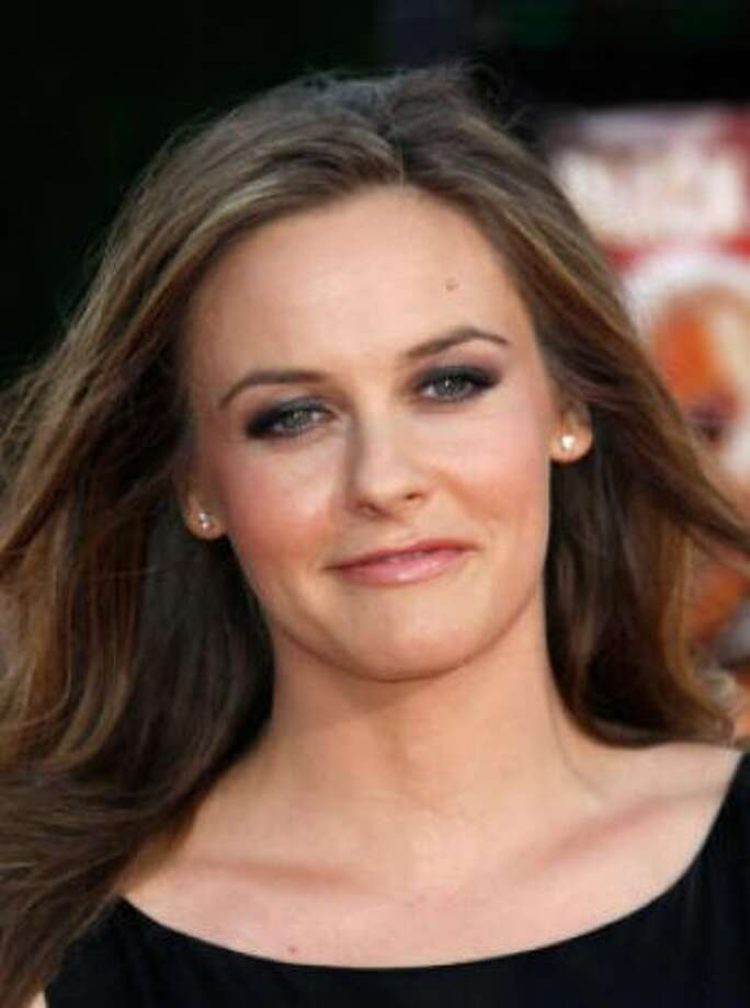 Alicia Silverstone (and Christopher Jarecki)