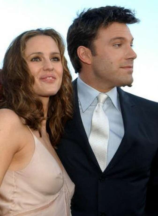 Ben Affleck and Jennifer GarnerBen Affleck reportedly fell in love with his future wife, Jennifer Garner, on the set of 'Daredevil.' Photo: Chris Pizzello, AP/HC