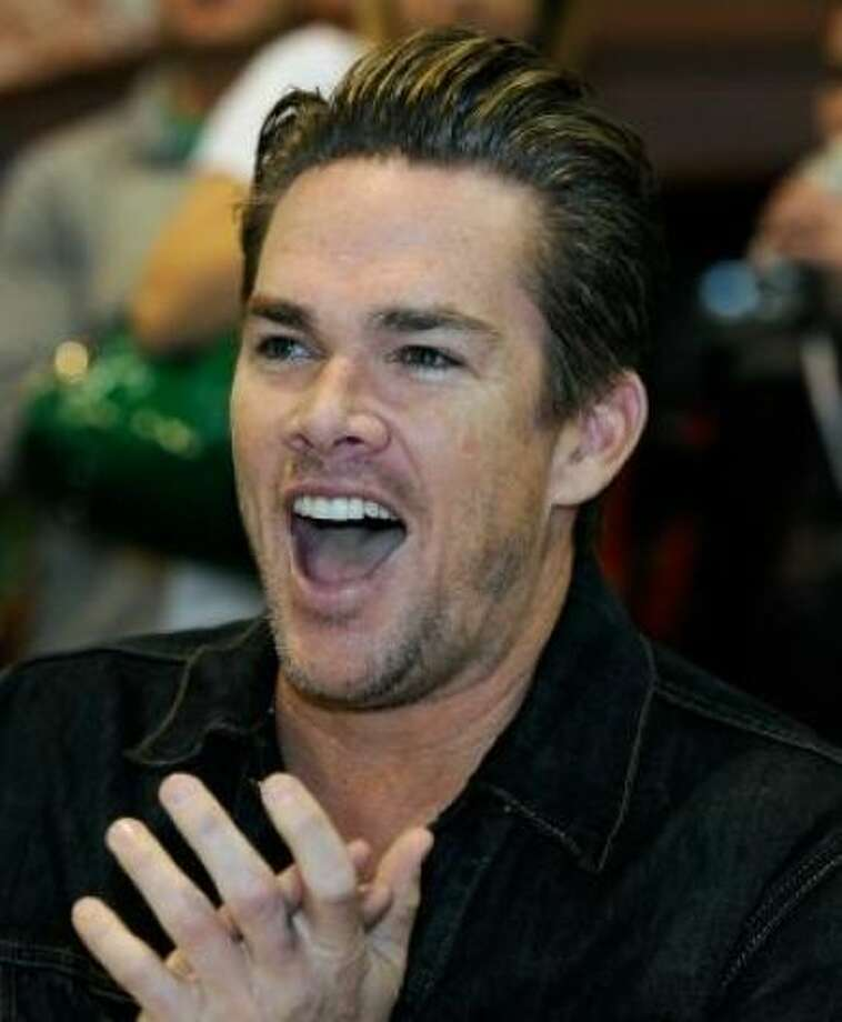 Mark McGrath and (Carin Kingsland): Kids' name: Lydon and Hartley Photo: Ethan Miller, Getty/ HC