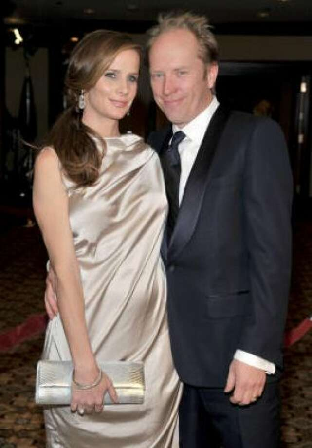 Rachel Griffiths and Andrew Taylor: Kids' names: Banjo, Adelaide and Clementine Photo: Frazer Harrison, Getty/ HC