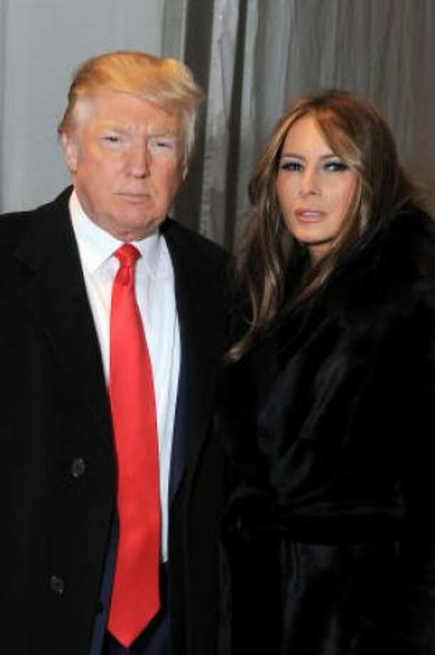 Donald Trump and Melania Trump: Kid's name: Barron Photo: Katy Winn, Getty/ HC