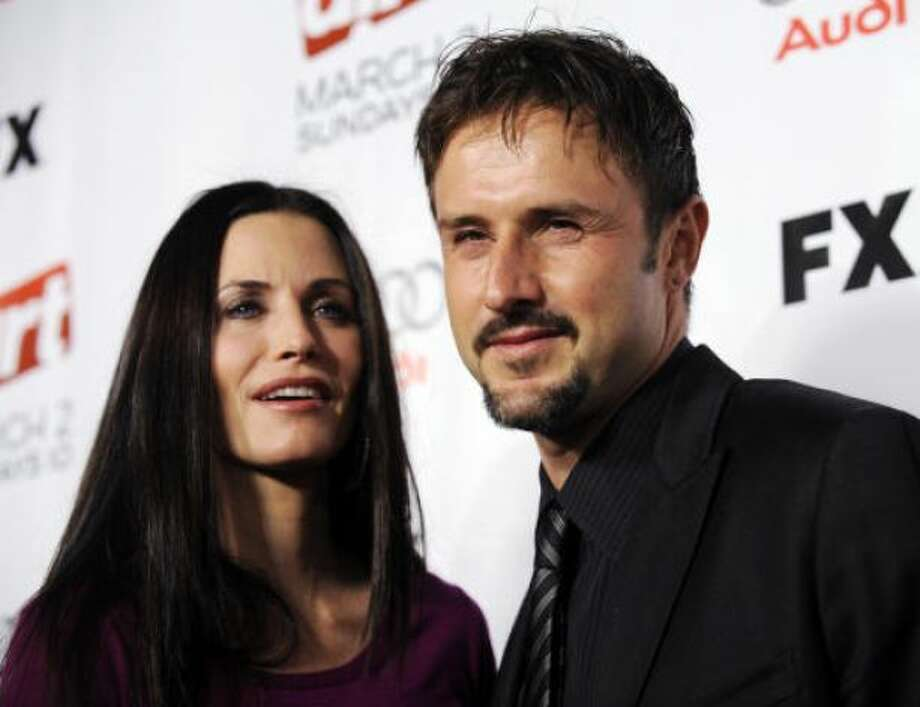Courteney Cox and David Arquette: