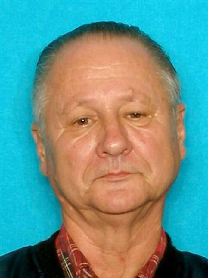 Stephen Knutson, 67, was stabbed and beaten to death in the trailer.