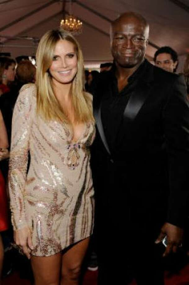 Heidi Klum and SealKids' names: Leni, Henry Gunther Adeola Dashtu, Johan Riley Fyodor Taiwo and Lou Sulola