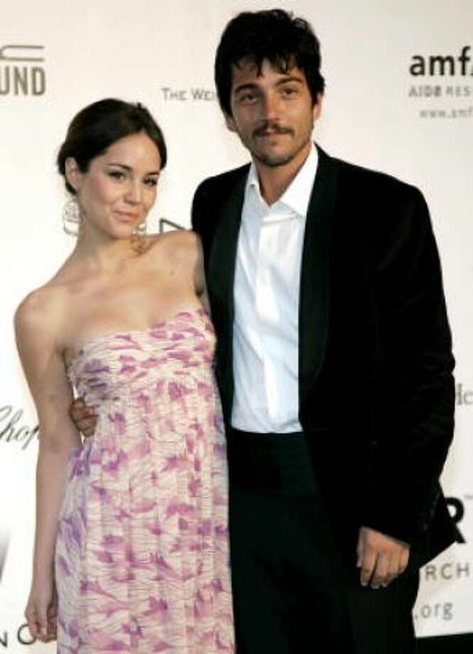 Diego Luna and Camila SodiKid's name: Jerónimo