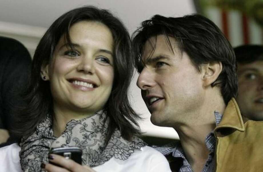 Tom Cruise and Katie HolmesKid's name: Suri