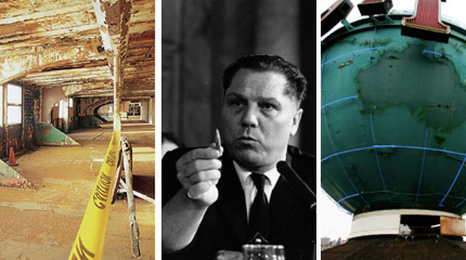 Where is Jimmy Hoffa? The FBI just finished digging up another acre of land and didn't find him -- again. So, we figure he might just be in Seattle. Click through to see where in Seattle he could be.