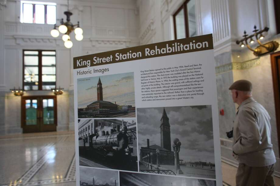 King Street Station? Took a long time to get that sucker fixed up … bad vibes?