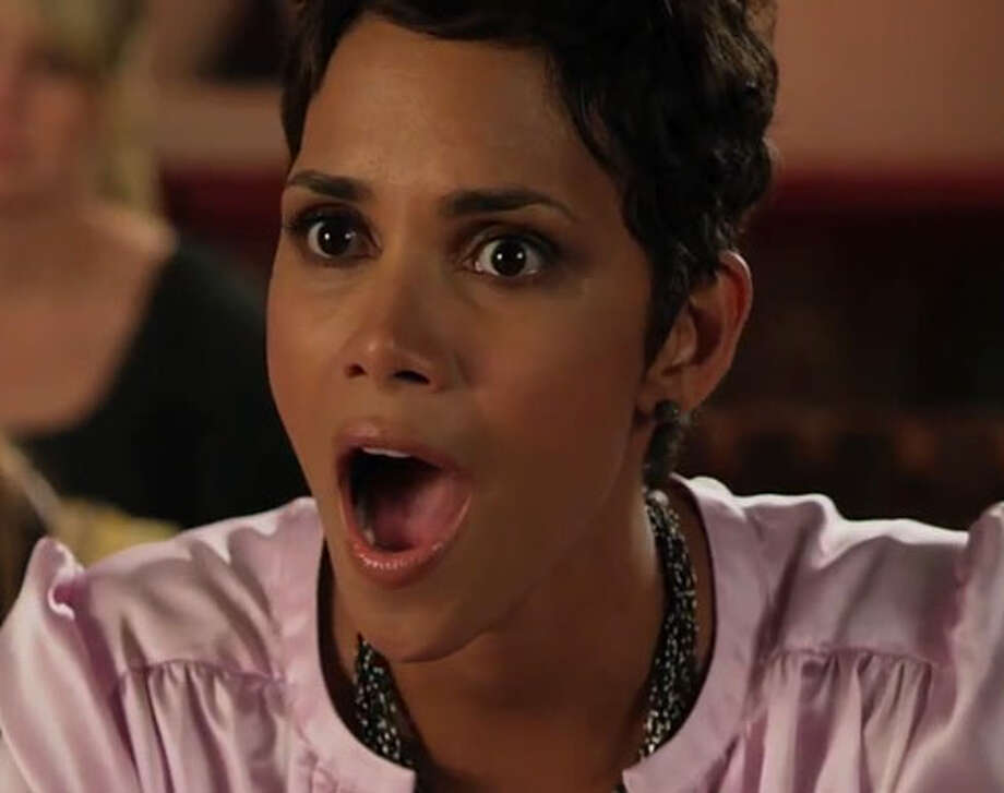 "Lest anyone forget, Halle Berry, one of the stars of the critically derided ""Movie 43,"" was in ""Catwoman,"" a far worse affront to cinema than this. Her Worst Actress nomination also includes ""The Call."""
