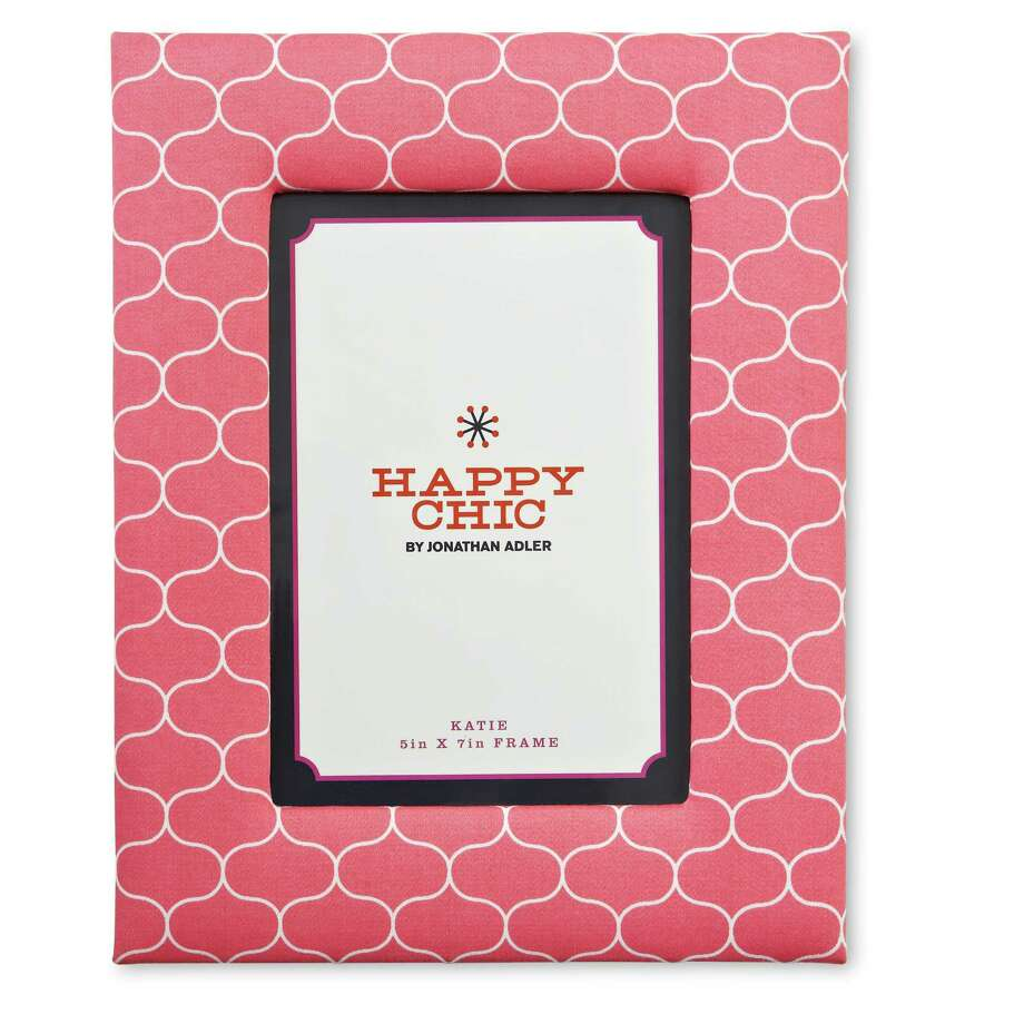 Happy Chic by Jonathan Adler Elizabeth fabric picture frame, $15 at JC Penney 719-1057