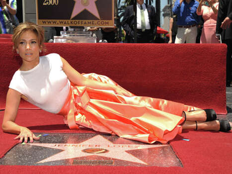 Jennifer Lopez appears at her star ceremony on the Hollywood Walk of Fame on Thursday, June 20, 2013 in Los Angeles. Photo: John Shearer, John Shearer/Invision/AP / Invision