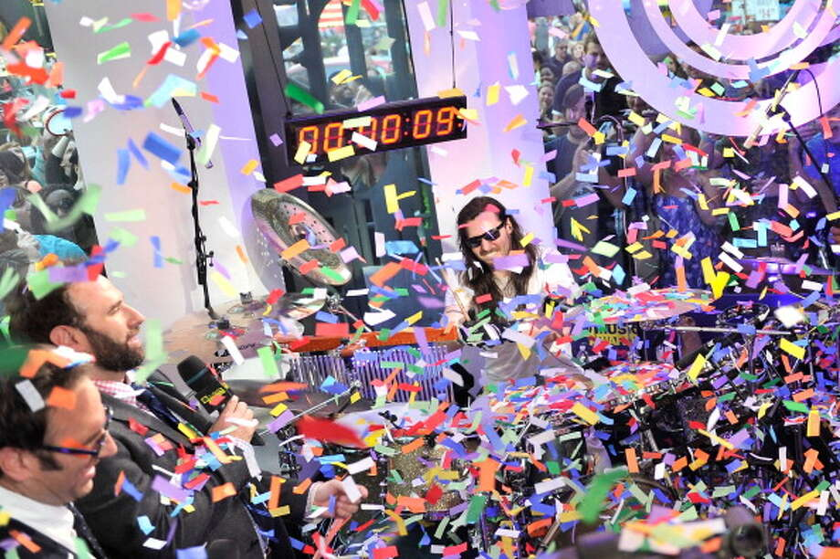 Rocker Andrew W.K.  set a record for drumming for 24 hours straight. Thing is, he isn't even a drummer. Photo: Stephen Lovekin, Getty Images / 2013 Getty Images
