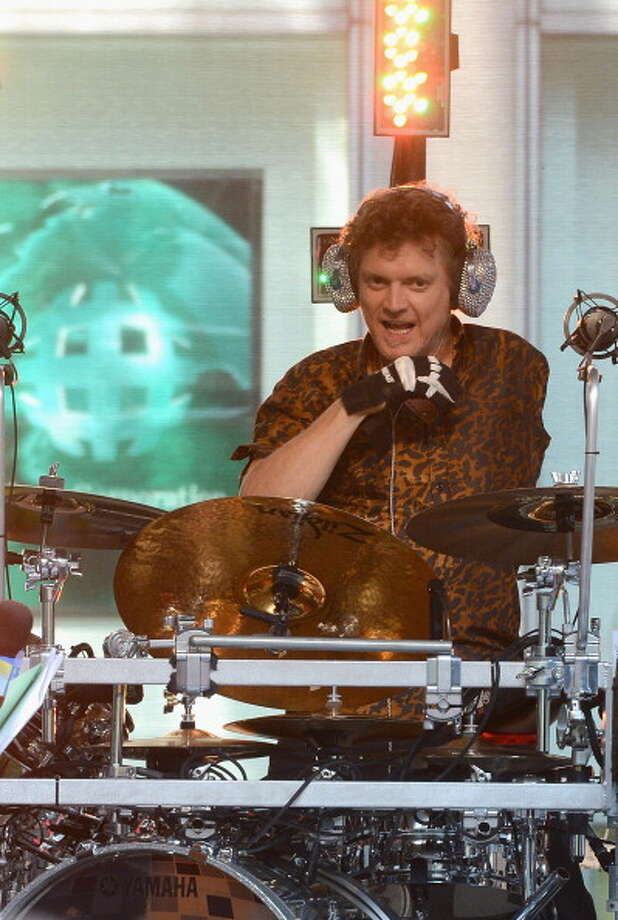 Rick Allen of Def Leppard  turned tragedy to triumph as he learned to drum with one arm. Photo: Dimitrios Kambouris, Getty Images / 2012 Getty Images