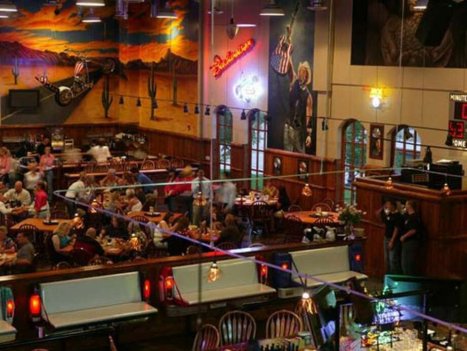 Toby Keith's I Love This Bar and Grill is at the West Oaks Mall in Houston.