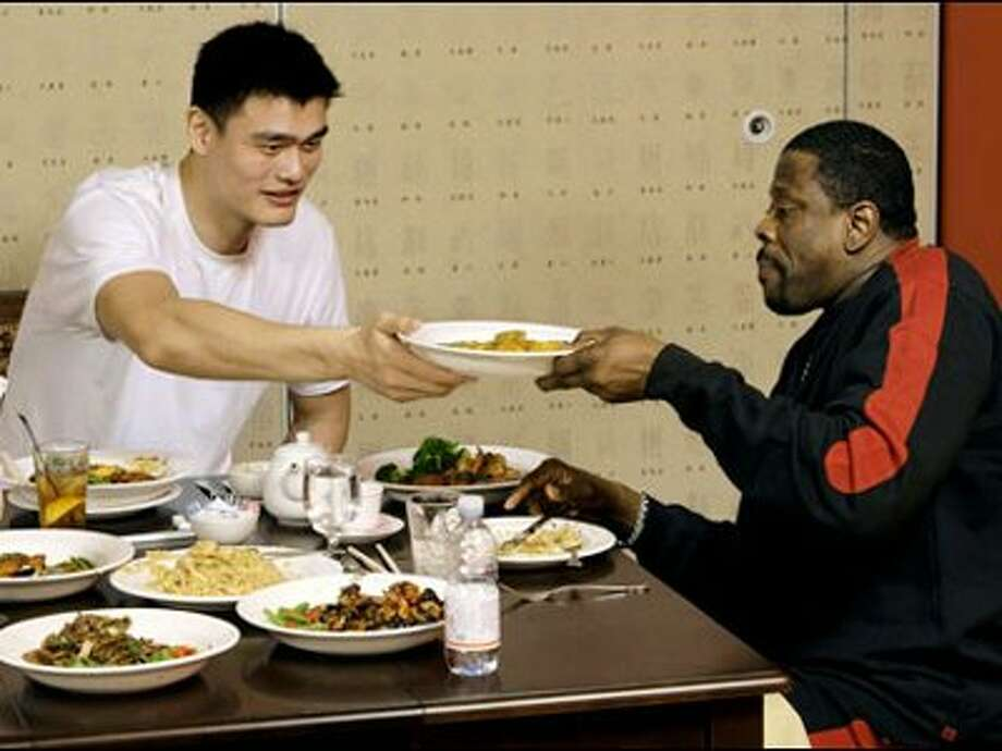 Yao Ming's Yao Bar and Restaurant had a downtown Houston location that closed, but its original Westchase location is still open.