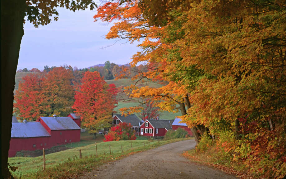 No. 15: Vermont With an index score of 5.31, and a life expectancy of 80.5 years, this state is No. 15 on the list.   The Jenne Farm in fall, Vermont, near Woodstock, USA Photo: Gallo Images/Danita Delimont, Getty Images / (c) Gallo Images/Danita Delimont