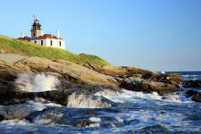 No. 14: Rhode Island  With an index score of 5.38, and a life expectancy of 79.9 years, this state is No. 14 on the list.   Beavertail Lighthouse, Newport, Rhode Island