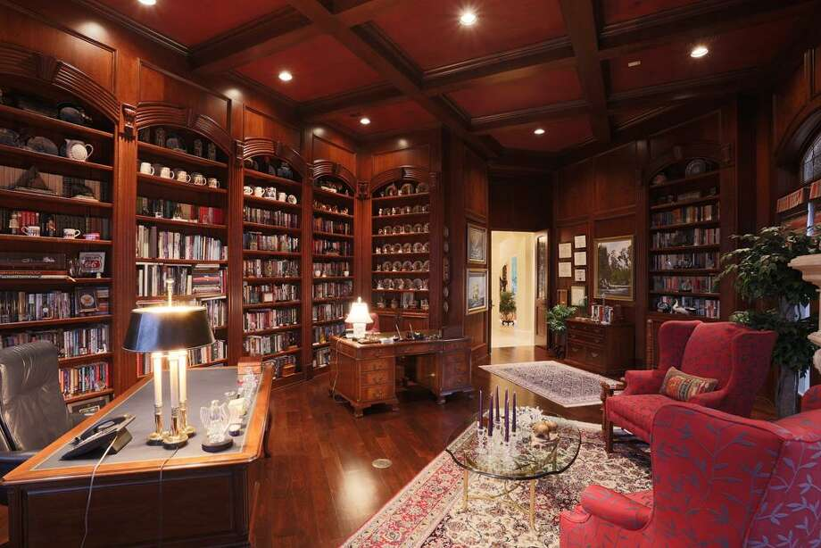 From this view you can see what a true Library this is. The quality that went into designing & building this home is truly a work of art.!