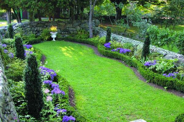 The 14 members of Connecticut's Historic Gardens group will celebrate their properties on Sunday, June 23, 203, with special events. Above is the Sunken Garden at Weir Farm National Historic Site in Wilton.