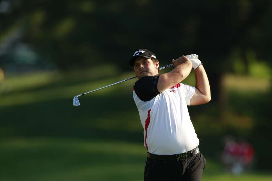 CROMWELL, CT - JUNE 21:  Patrick Reed hits a tee shot during the second round of the Travelers Championship held at TPC River Highlands on June 21, 2013 in Cromwell, Connecticut.  (Photo by Michael Cohen/Getty Images)